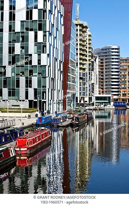 Paddington Basin Development, London, England