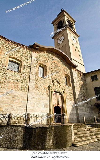 basilica parrocchiale di san teodoro, cantù, lombardia, italia
