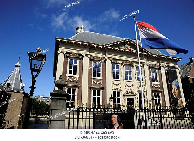 Mauritshuis museum, a building in neo-classical style, picture gallery in The Hague, Den Haag, South Holland, Netherlands