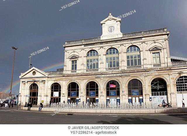 Lille-Flandres station, Nord-Pas-de-Calais, France
