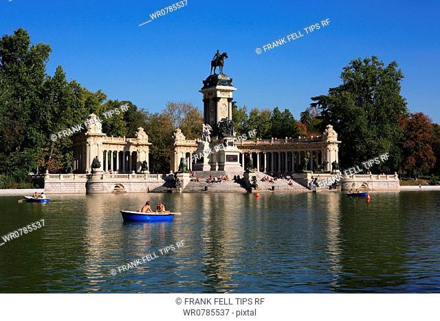 Spain, Madrid, El Retiro Park