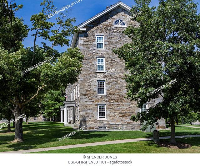 Stone Dormitory Building, Middlebury College, Middlebury,Vermont, USA