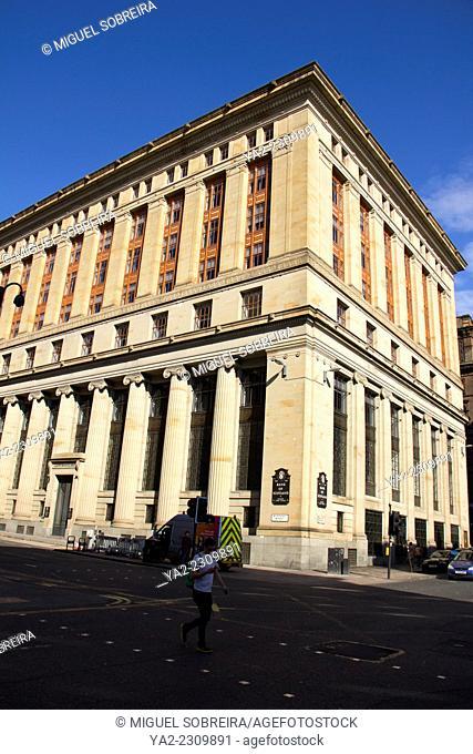 Bank Of England in Glasgow - Scotland