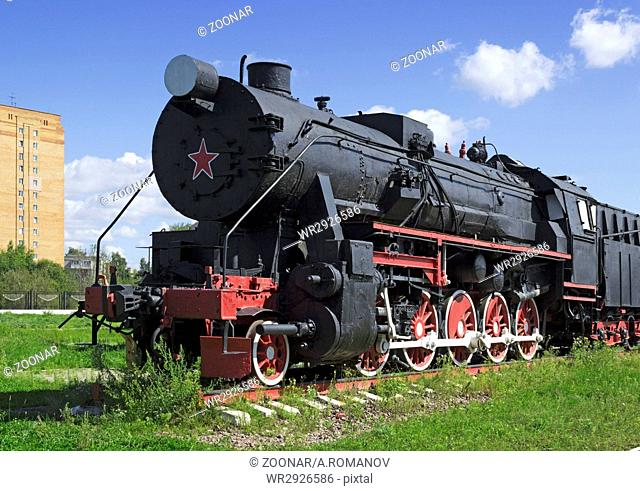 Old freight locomotive
