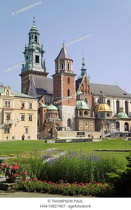 Wawel Cathedral, Wawel Hill, Wawel, cathedral, hill, Krakow, Cracow, Poland, EU, Europe, Eastern, European, travel, ho