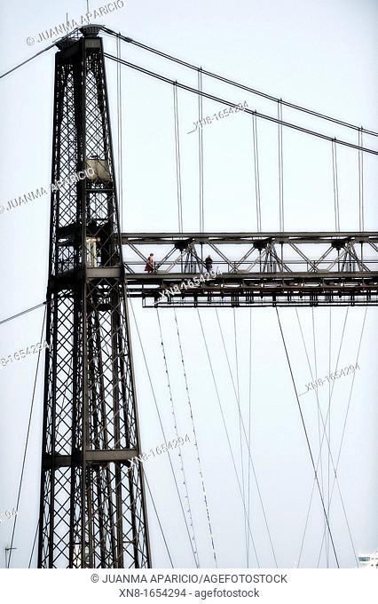 The Vizcaya Bridge (Bizkaiko Zubia in Basque, Puente de Vizcaya in Spanish), is a transporter bridge that links the towns of Portugalete and Las Arenas (part of...