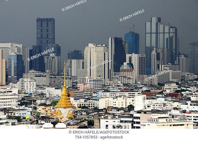 Black Heavan over Bangkok