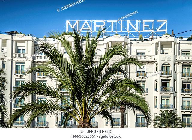 Hotel Martinez, Cannes, Cote d Azur, Frankreich