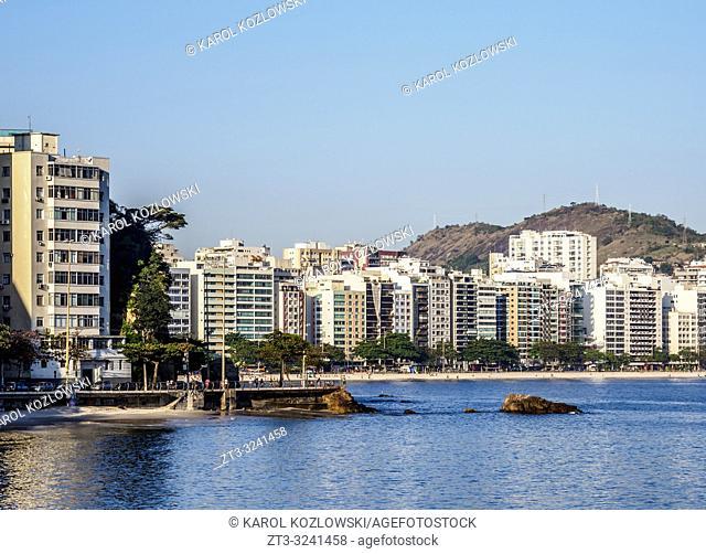 Icarai Beach and Neighbourhood, Niteroi, State of Rio de Janeiro, Brazil