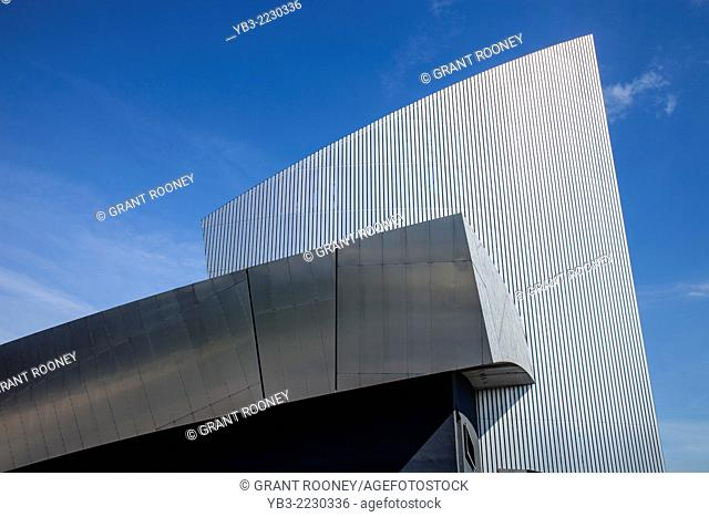 The Imperial War Museum North, Salford Quays, Manchester, England