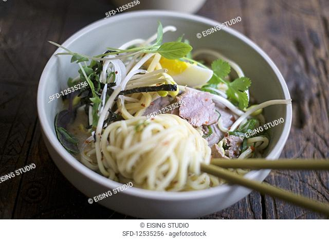 Noodles with beef (Asia)