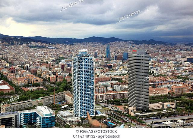 Towers at Barcelona Seafront