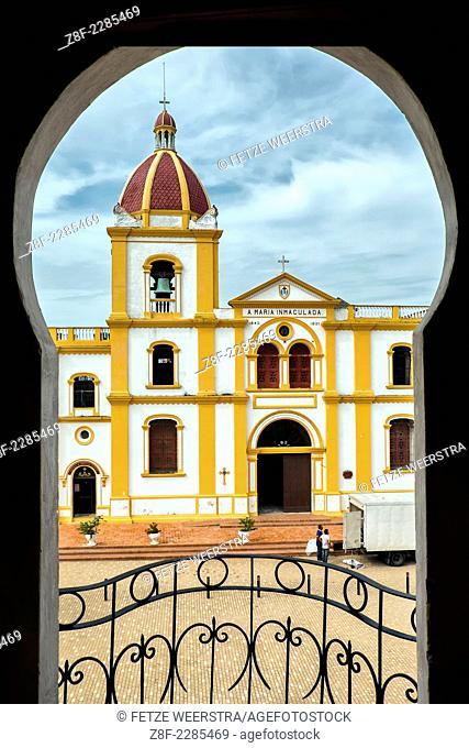The Church of Concepcion in Mompox