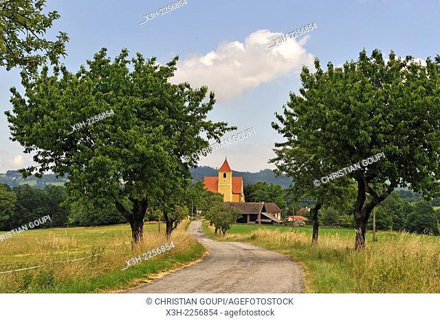 village of South Bohemian Region, Czech Republic, Europe
