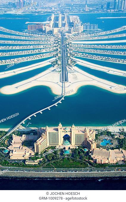Atlantis Hotel on Palm Jumeirah in Dubai, UAE