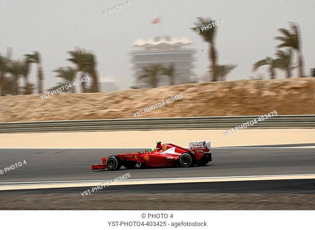 21.04.2012- Free Practice 3, Felipe Massa (BRA) Scuderia Ferrari F2012, Bahrain Grand Prix, Manama