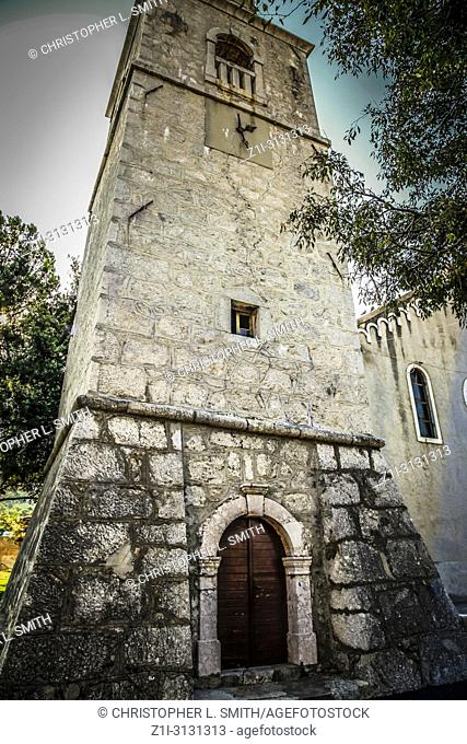 The church of Holy Trinity at Punat on the Croatian island of Krk