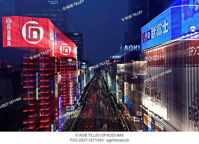 Akihabara District in Tokyo