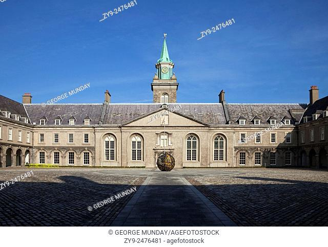 The Royal Hospital - now the Museum of Modern Art (IMMA), Kilmainham, Dublin City, Ireland