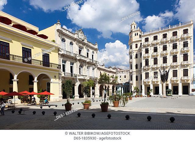 Cuba, Havana, Havana Vieja, Plaza Vieja