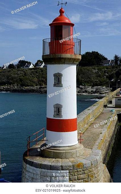 Leuchtturm auf der Ile de Groix, Bretagne