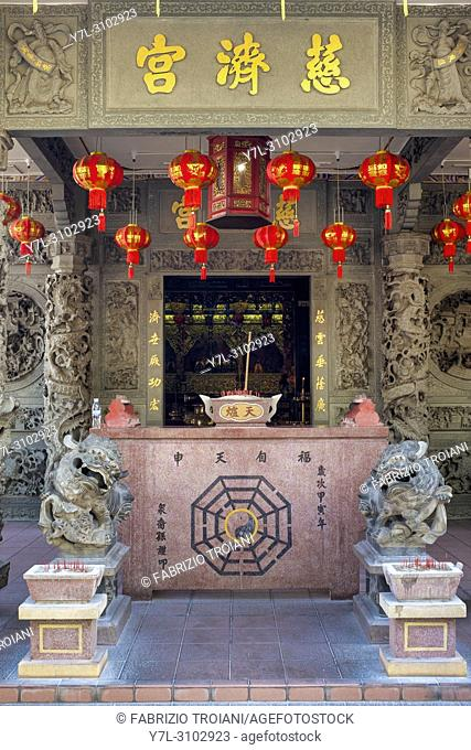 Choo Chai Keong temple, Georgetown, Penang, Malaysia