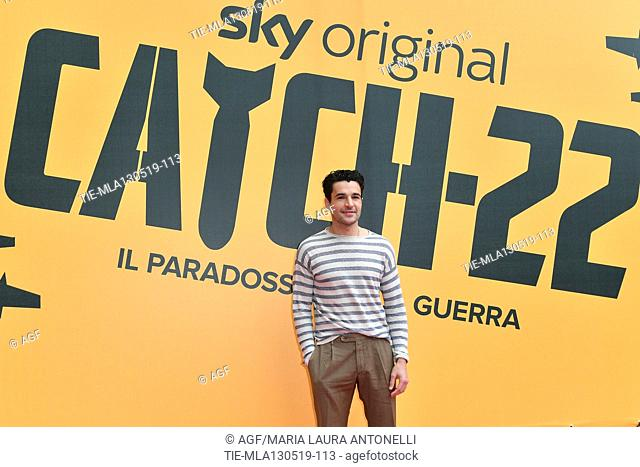 Christopher Abbott during 'Catch-22' TV show photocall, Rome, Italy - 13 May 2019