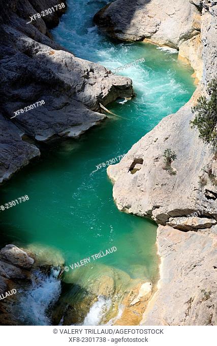 The Esteron Valley, Prealpes d'Azur regional park, Alpes-Maritimes, Provence-Alpes-Côte d'Azur, France