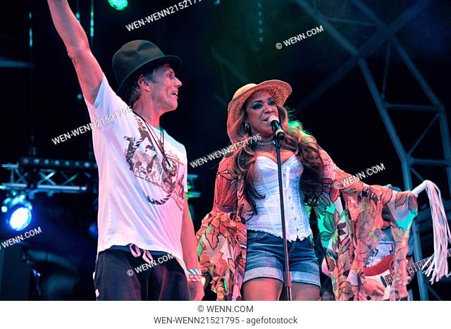 Godiva Festival - Day 2 - Performances Featuring: Bez,Mark Berry,Rowetta Satchell Where: Coventry, United Kingdom When: 05 Jul 2014 Credit: WENN.com