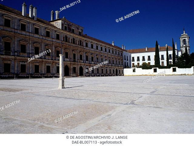 The Palace of the Dukes of Braganza, in Vila Vicosa, Alentejo. Portugal, 16th-17th century
