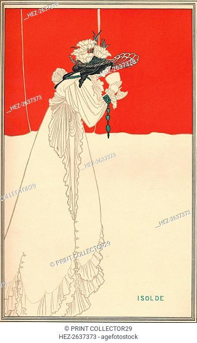 'Isolde', c1895, (1896). Artist: Aubrey Beardsley