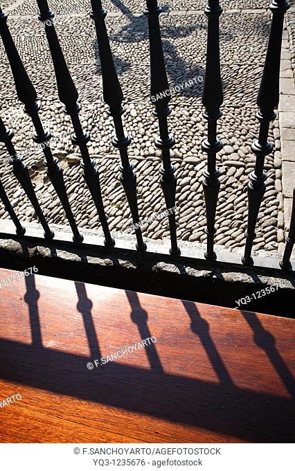 Bench at La Correria, Castro Urdiales, Cantabria, Spain