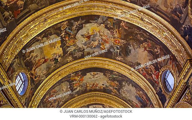 St. John's Co-Cathedral, Valletta City, Malta Island, Malta, Europe