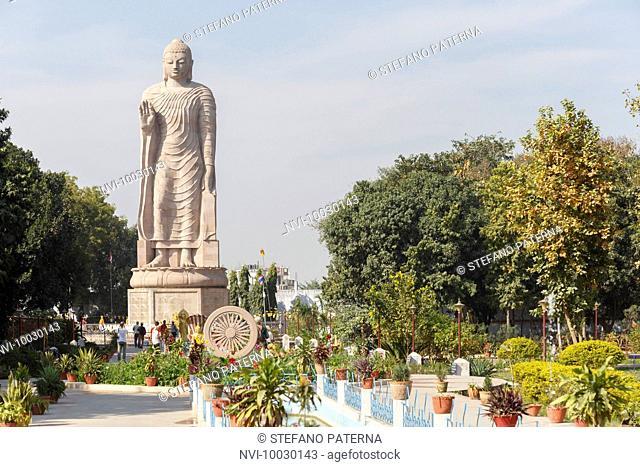 Wat Thai Temple, Sarnath, Varanasi, Uttar Pradesh, India