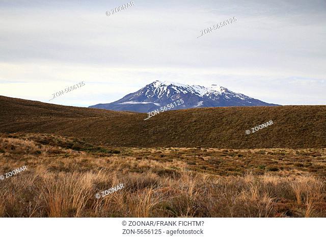 Mount Ruapehu im Tongariro Nationalpark