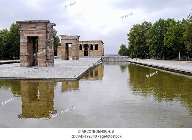 Temple of Debod, Madrid, Spain, ancient Egyptian temple, Templo de Debod