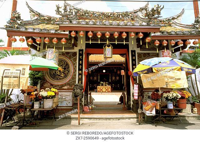 Cheng Hoon Teng Temple, chinatown, Melaka, Malaysia