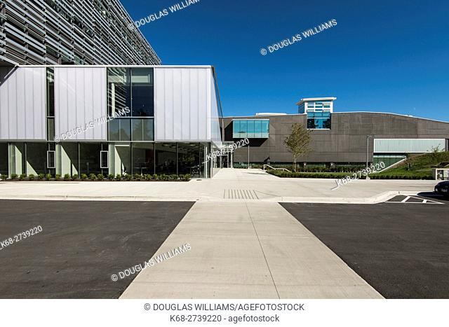 the new Science and Technology building, Langara College, Vancouver, BC, Canada