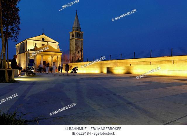 Caorle at the Adria region Veneto Italy pilgrim church Madonna dell'Angelo