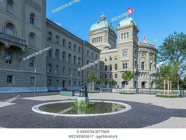 Switzerland, Bern, Federal Palace