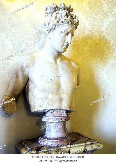 Apollo statue. Musei Capitolini - Rome, Italy