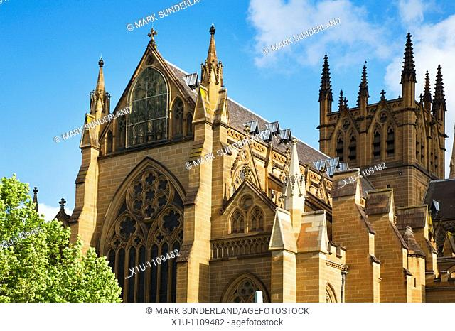 St Marys Cathedral Sydney New South Wales Australia