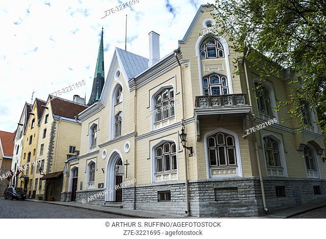 Architecture, Old Town, Tallinn, Estonia, Baltic States