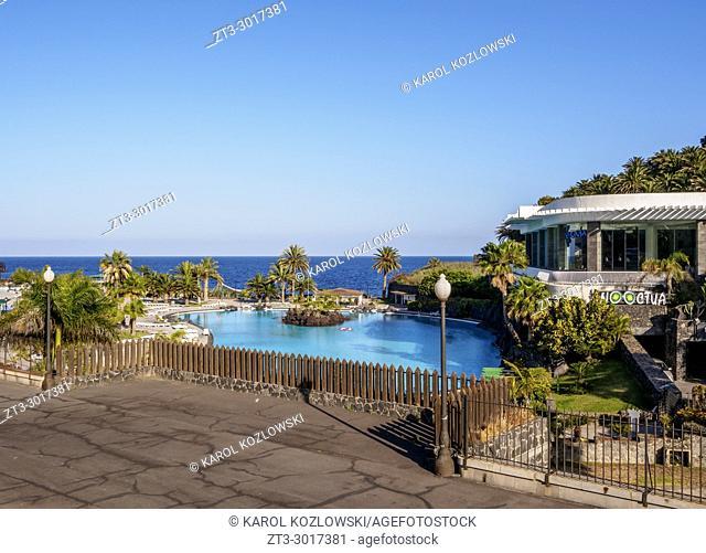 Parque Maritimo Cesar Manrique, Santa Cruz de Tenerife, Tenerife Island, Canary Islands, Spain