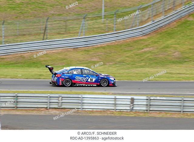 Subaru WRS STI, Nuerburgring, 24h Nuerburgring, motorsports, curves, curbes, racing, top gear, high speed, top gear, Eifel, Rhineland-Palatinate, Germany