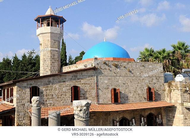 Lebanon: The mosque in the old town of Byblos