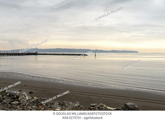 View from White Rock, British Columbia, Canada