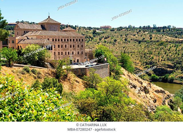 Spain, Toledo, view Plaza del Calvario