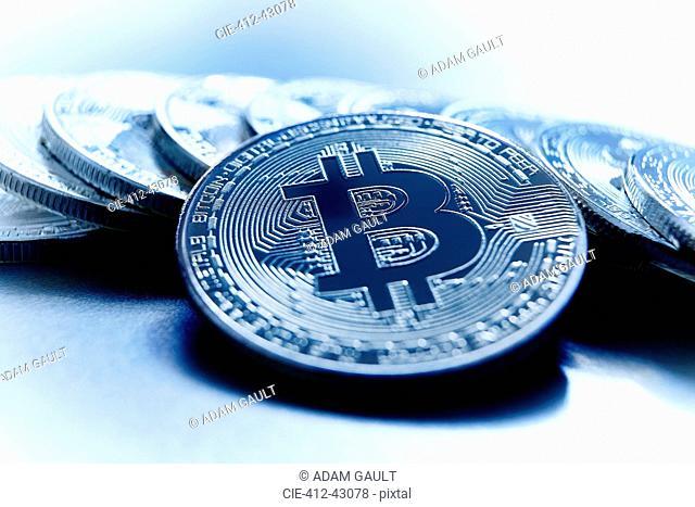 Blue Bitcoins