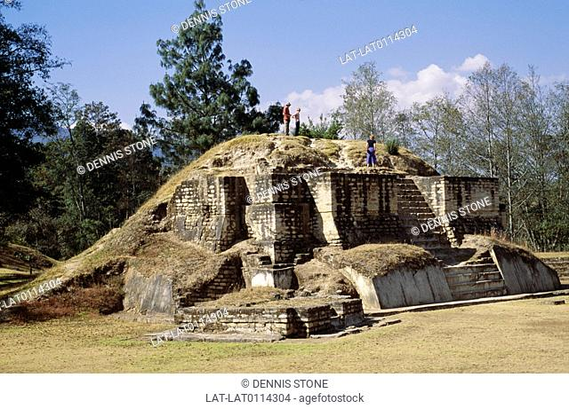 Iximche is a pre-columbian mesoamerican site. It was home to the Kaquhukal Maya People,the city was founded in 1470 by Kikab the Great